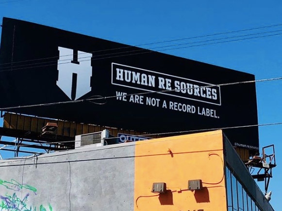 Billboard: Human Re Sources We Are Not A Record Label.