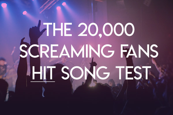 The 20,000 Screaming Fans HIT Song Test