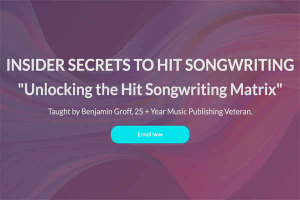Insider Secrets to Hit Songwriting Course